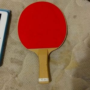 A ping pong paddle
